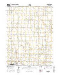 Yuma North Colorado Current topographic map, 1:24000 scale, 7.5 X 7.5 Minute, Year 2016