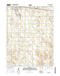 Yuma South Colorado Current topographic map, 1:24000 scale, 7.5 X 7.5 Minute, Year 2016