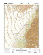 Zapata Ranch Colorado Current topographic map, 1:24000 scale, 7.5 X 7.5 Minute, Year 2016 from Colorado Map Store