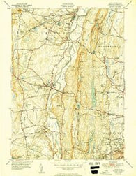 Avon Connecticut Historical topographic map, 1:31680 scale, 7.5 X 7.5 Minute, Year 1951