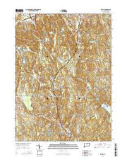 Bethel Connecticut Current topographic map, 1:24000 scale, 7.5 X 7.5 Minute, Year 2015 from Connecticut Maps Store