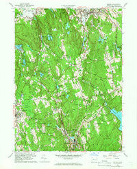 Bethel Connecticut Historical topographic map, 1:24000 scale, 7.5 X 7.5 Minute, Year 1959