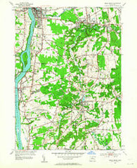 Broad Brook Connecticut Historical topographic map, 1:24000 scale, 7.5 X 7.5 Minute, Year 1953