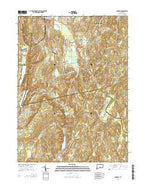 Durham Connecticut Current topographic map, 1:24000 scale, 7.5 X 7.5 Minute, Year 2015 from Connecticut Map Store