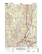 Hartford North Connecticut Current topographic map, 1:24000 scale, 7.5 X 7.5 Minute, Year 2015 from Connecticut Map Store