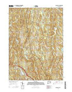 Marlborough Connecticut Current topographic map, 1:24000 scale, 7.5 X 7.5 Minute, Year 2015 from Connecticut Map Store