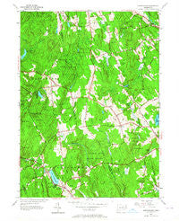 Marlborough Connecticut Historical topographic map, 1:24000 scale, 7.5 X 7.5 Minute, Year 1953