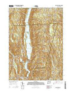 New Hartford Connecticut Current topographic map, 1:24000 scale, 7.5 X 7.5 Minute, Year 2015 from Connecticut Map Store