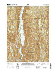 New Hartford Connecticut Current topographic map, 1:24000 scale, 7.5 X 7.5 Minute, Year 2015 from Connecticut Maps Store