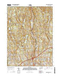 Norwalk North Connecticut Current topographic map, 1:24000 scale, 7.5 X 7.5 Minute, Year 2015