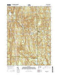 Oneco Connecticut Current topographic map, 1:24000 scale, 7.5 X 7.5 Minute, Year 2015