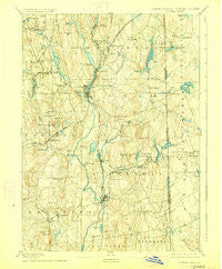 Putnam Connecticut Historical topographic map, 1:62500 scale, 15 X 15 Minute, Year 1893