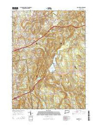 Rockville Connecticut Current topographic map, 1:24000 scale, 7.5 X 7.5 Minute, Year 2015