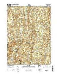 Scotland Connecticut Current topographic map, 1:24000 scale, 7.5 X 7.5 Minute, Year 2015