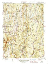 Scotland Connecticut Historical topographic map, 1:31680 scale, 7.5 X 7.5 Minute, Year 1946