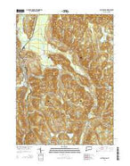 South Canaan Connecticut Current topographic map, 1:24000 scale, 7.5 X 7.5 Minute, Year 2015 from Connecticut Map Store
