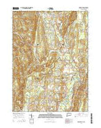 Tariffville Connecticut Current topographic map, 1:24000 scale, 7.5 X 7.5 Minute, Year 2015 from Connecticut Map Store