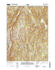 Torrington Connecticut Current topographic map, 1:24000 scale, 7.5 X 7.5 Minute, Year 2015