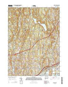Westport Connecticut Current topographic map, 1:24000 scale, 7.5 X 7.5 Minute, Year 2015