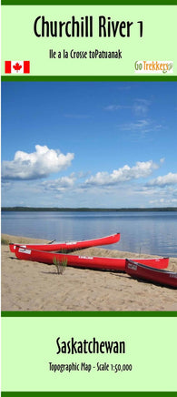 Churchill River 01 Map | Canoe Routes