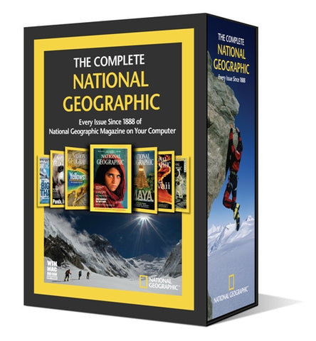 Buy magazine on disk The Complete National Geographic