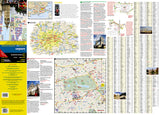 London, United Kingdom DestinationMap by National Geographic Maps - Front of map