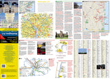 Washington D.C. DestinationMap by National Geographic Maps - Front of map