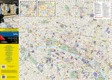 Paris, France DestinationMap by National Geographic Maps - Front of map