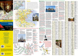 Boston, Massachusetts DestinationMap by National Geographic Maps - Front of map