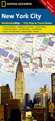 Buy map New York City, New York DestinationMap by National Geographic Maps