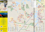 Orlando, Florida DestinationMap by National Geographic Maps - Front of map