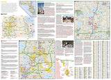 Orlando, Florida DestinationMap by National Geographic Maps - Back of map