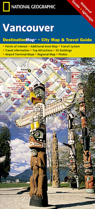 Buy map Vancouver, British Columbia DestinationMap by National Geographic Maps