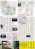 Vancouver, British Columbia DestinationMap by National Geographic Maps - Front of map