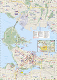 Vancouver, British Columbia DestinationMap by National Geographic Maps - Back of map