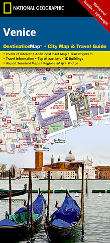 Buy map Venice, Italy DestinationMap by National Geographic Maps
