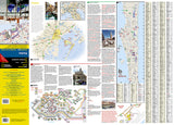 Venice, Italy DestinationMap by National Geographic Maps - Front of map