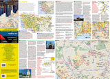 Los Angeles, California DestinationMap by National Geographic Maps - Front of map