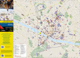 Florence, Italy, DestinationMap by National Geographic Maps - Front of map