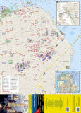 San Francisco, California DestinationMap by National Geographic Maps - Front of map