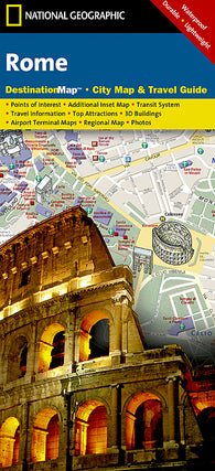 Buy map Rome, Italy DestinationMap by National Geographic Maps