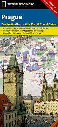 Buy map Prague, Czech Republic DestinationMap by National Geographic Maps