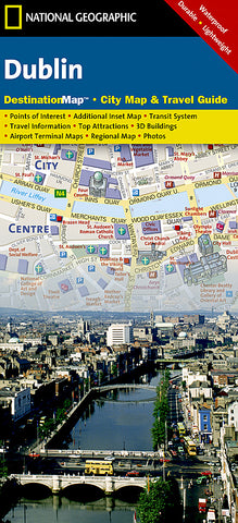 Buy map Dublin, Ireland DestinationMap by National Geographic Maps