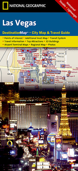 Buy map Las Vegas, Nevada DestinationMap by National Geographic Maps