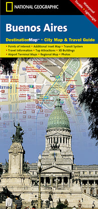 Buy map Buenos Aires, Argentina DestinationMap by National Geographic Maps