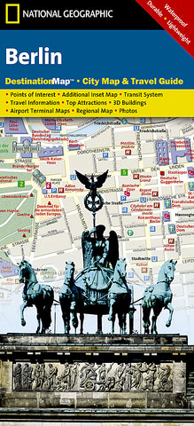 Buy map Berlin, Germany DestinationMap by National Geographic Maps