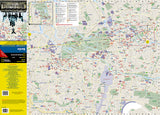 Berlin, Germany DestinationMap by National Geographic Maps - Front of map