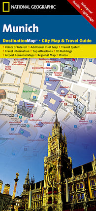 Buy map Munich, Germany DestinationMap by National Geographic Maps