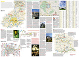 Munich, Germany DestinationMap by National Geographic Maps - Back of map