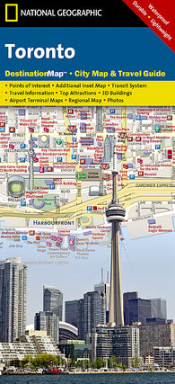 Buy map Toronto, Ontario DestinationMap by National Geographic Maps